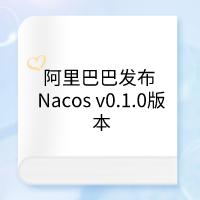 阿里巴巴发布 Nacos v0.1.0版本,回顾自研 10 年路